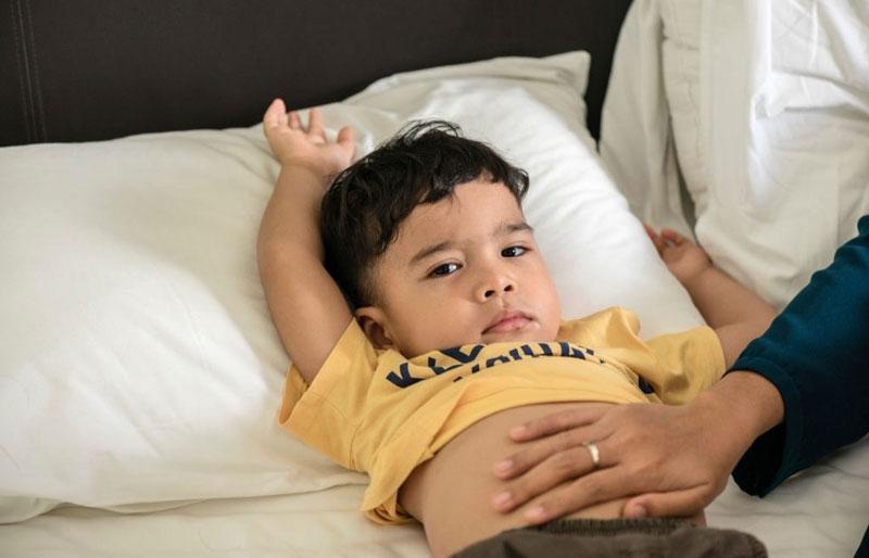perut kembung pada anak
